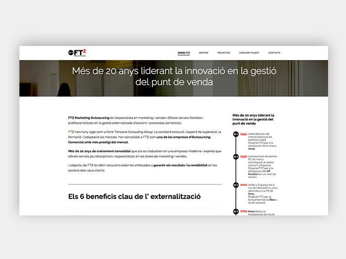 FTZ Disseny Web